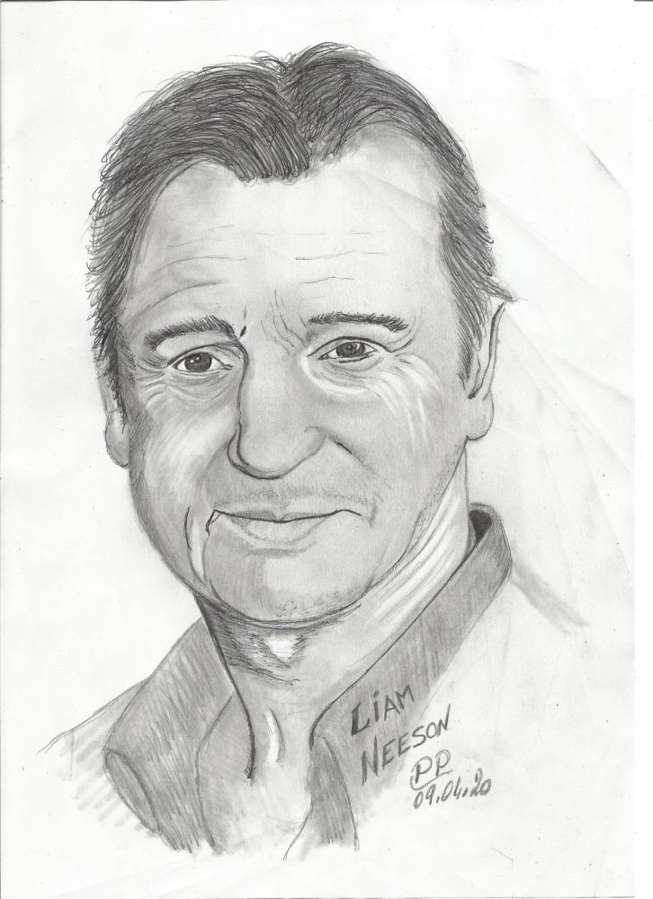 Liam Neeson par Patoux